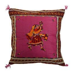 Traditional Embroidery Cotton Cushion Cover