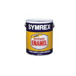 Mid sheen Water Based Paint Symrex Emulsion Paint, Packaging Type: Can