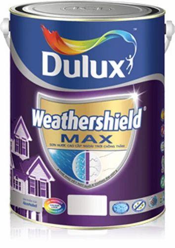 ici dulux weathershield max paints at rs 310 litre dulux emulsion