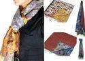 Reversible Silk Scarves Handmade Scarf