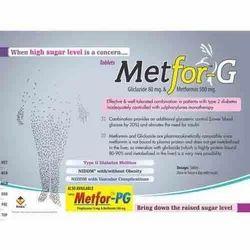 Gliclazide 80 Mg & Metformin 500 Mg