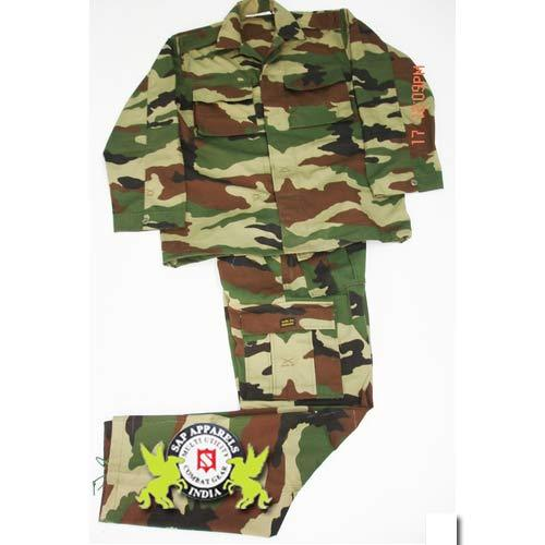 Indian army dress color