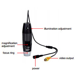 Insize TV Digital Microscope, Magnification : 10X-200X