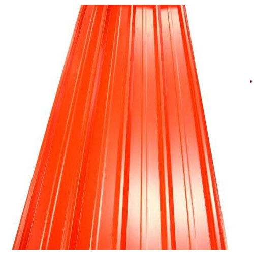 Steel / Stainless Steel & FRP Colored Roofing Sheets, 0.14-0.80mm ...