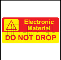 150453 Caution Sticker for Electronic Material