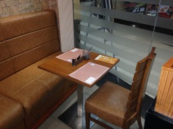Used Chair & Tables, For Commercial, Size: Ask