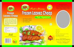 500 Gram Frozen Chaap Packaging Pouch