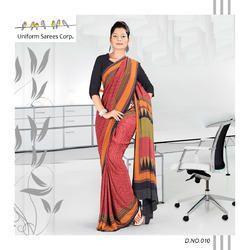 Fancy Office Uniform Saree