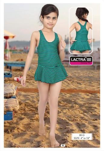 4011ef3e9328f Girls Kids Swimming Costume | Lactra Company | Manufacturer in Patel ...