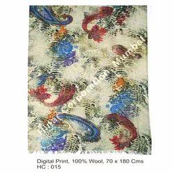 Fine Wool Digital Print Shawls