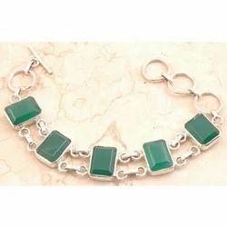 Little Green Onyx Bracelet
