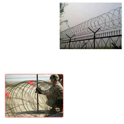 Concertina Coil Wires for Defence