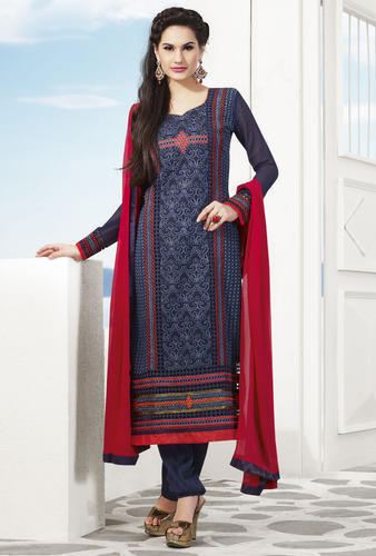 Cotton Semi-Stitched Salwar Kameez