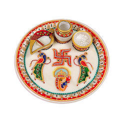 Pooja thali in jaipur rajasthan manufacture and stock decorative aarti thali these aarti thali also know as pooja thali puja thali wedding thali decorative thali decoration thali junglespirit Gallery