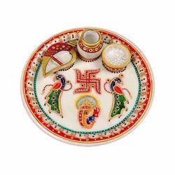Pooja thali in jaipur rajasthan puja thali manufacturers in jaipur pooja thali junglespirit Choice Image