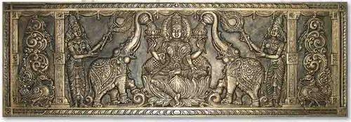 Design Brass Gajalakshmi View Specifications Details By Artistic