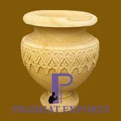 Marble Garden Vase
