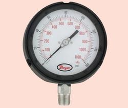 Process Gauge with Dampened Movement