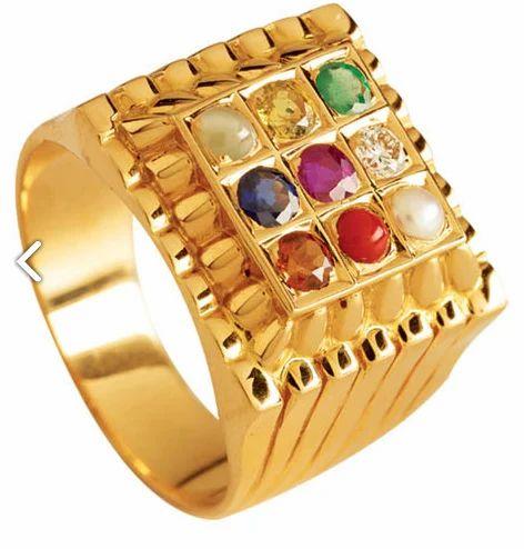 Navratna Ring Stylish Navratna Ring Retailer from Kochi
