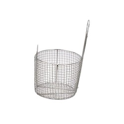 Stainless Steel Mesh Fry Basket, for Pharmaceutical / Chemical Industry