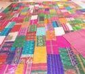 Silk Sari Kantha Quilts