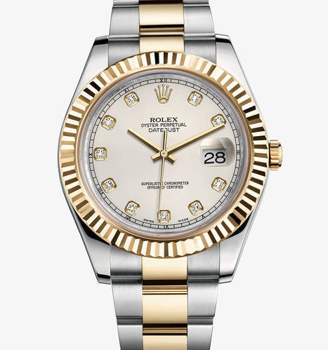940efef3aacbf Rolex Date Just Oyster Perpetual Watch - Unicorn India Electromart ...