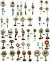 Silver Metal Decorative Items