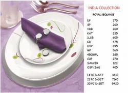 Corelle Royal Sequins Dinner Sets 21 PC