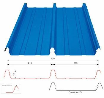 Clip Lock Sheet At Rs 595 Square Meter छत की चादर
