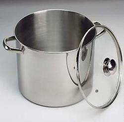Stock Pots Set with Glass Lid
