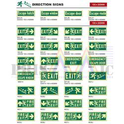 White And Green IMO Safety Signs, Shape: Square
