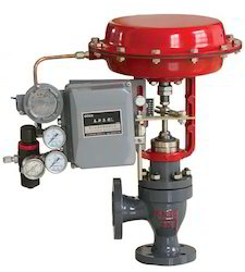 Pneumatic Control Valve with Positioner Unit