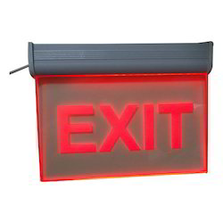 Red LED Exit Signage