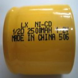 Industrial Battery (1/2d) Nimh 1.2 V Rechargeable Battery