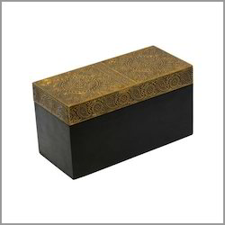 Brass Wood Box