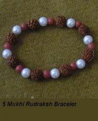 5 Mukhi Rudraksh Bracelet