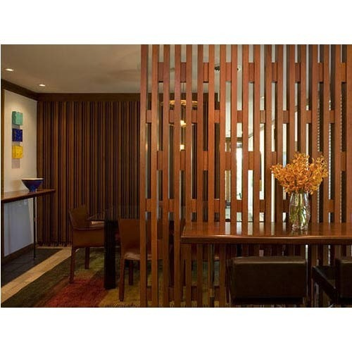 Wooden Partition wooden partition at rs 180 /square feet | home furniture - royal