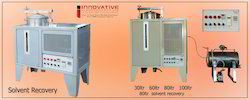 Solvent Recovery Machines