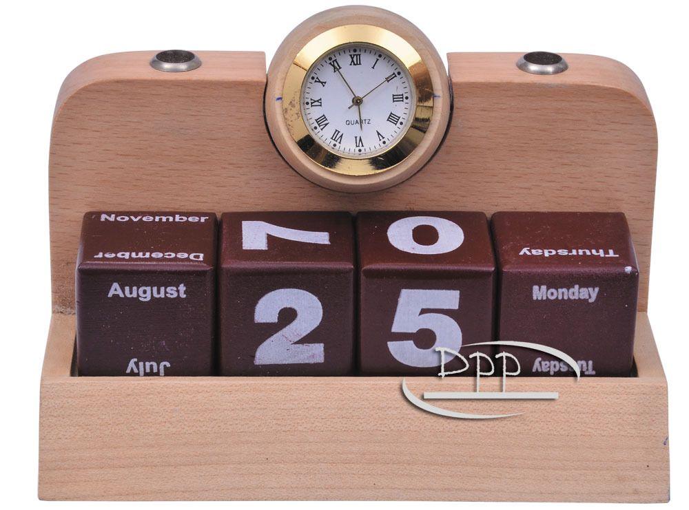 Wooden Calendar, Size/Dimension: 3.05 Inch X 2.25 Inch X 6 Inch