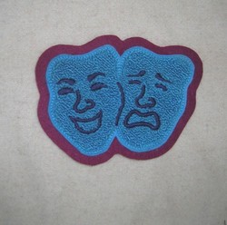 Chenille Drama Patch