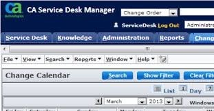 Good CA Service Desk Manager
