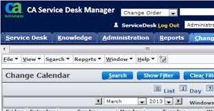 CA Service Desk Manager