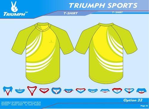 06e25bd6 Polyester Tee Shirt Design, Triumph Sportswear Design Studio Private ...