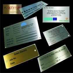 Etching Signages