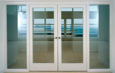 Bon Wood Fire Rated Glass Doors, Size: 1.2 X 2.1 M