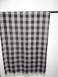 Fine Wool Check Stoles
