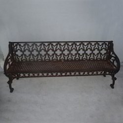 Industrial Furniture Cast Iron Outdoor Bench