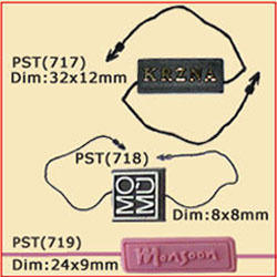 Custom Plastic jewelry Tags