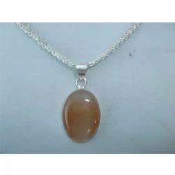 Designer silver stone pendant silver jewelry ornaments avni designer silver stone pendant aloadofball Choice Image