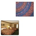 Colorful Printed Bed Sheets for Hotel